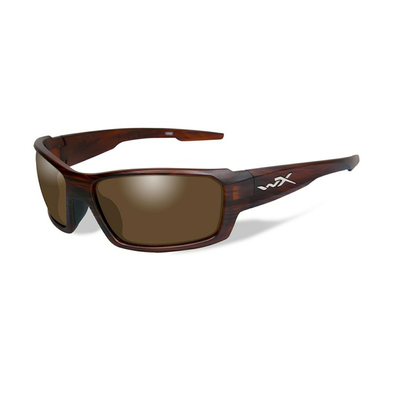 c5290094fb Wiley X Rebel Polarized Bronze Matte Layered Tortoise Frame ...