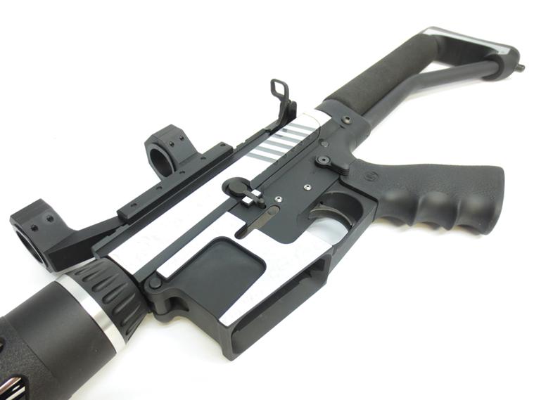 JP AR-15 Custom Rifle Engraved